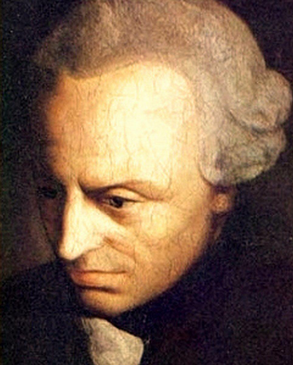 Immanuel Kant ca1790