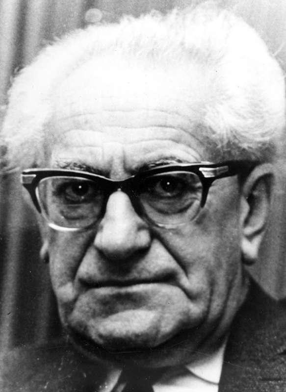 Generalstaatsanwalt Fritz Bauer pd
